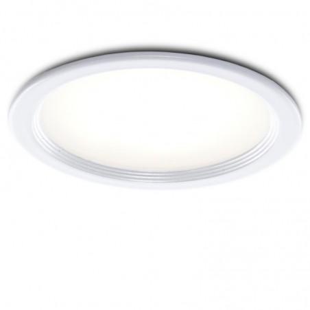 Foco Downlight  LED Ø76Mm 3W 270Lm Marco Blanco 30.000H
