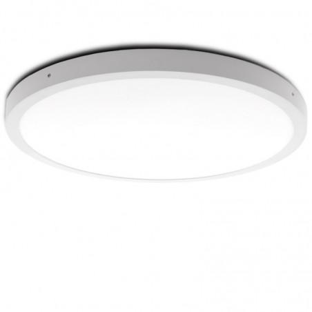 Plafón LED Circular Superficie Ø605Mm 48W 3600Lm 30.000H