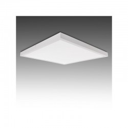 Plafón LED Cuadrado Superficie 600X600Mm 36W 2700Lm 30.000H