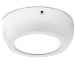 Plafón LED Circular Superficie Style 120Mm 6W 470Lm 30.000H