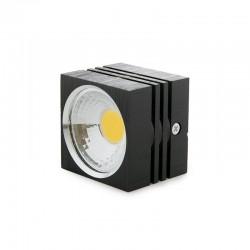 Foco Downlight  LED de Superficie COB Cuadrado Negro 57X57Mm 3W 270Lm 30.000H BF-MZ3002-3W-B-R-WW