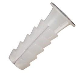 Taco Wolfpack Plástico Blanco 10x35 mm. (25 unidades)