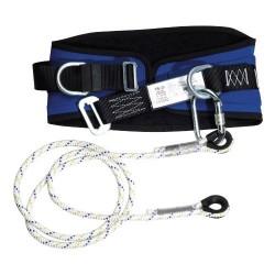Cinturon Seguridad con Cuerda y Mosquetón
