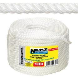 Cuerda Polipropileno Multifilamento (Rollo 100 m.)  12 mm.