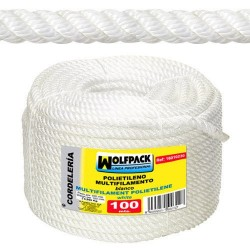 Cuerda Polipropileno Multifilamento (Rollo 100 m.)  20 mm.