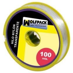 Hilo Nylon Transparente 1.0 mm. Rollo 100 m.