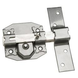 Cerrojo b-5 llave y pulsador pasador de 143mm cilindro...