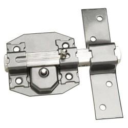 Cerrojo b-7 llave y pulsador pasador de 143mm cilindro de...