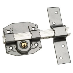 Cerrojo b-8 llave 2 lados de 165mm cilindro de pera de 50mm