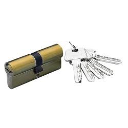 Cilindro Azbe Seguridad Hs-6 34x34/r15,0 Latonado