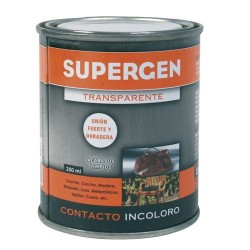 Pegamento Supergen Incoloro  250 ml.