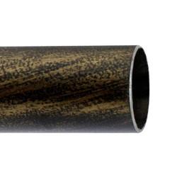 Barra Hierro Forja 28 mm. x 2,50 Metros Negro Dorado