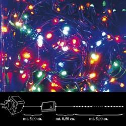 Luces Navidad 100 Leds Color Interior / Exterior Ip44