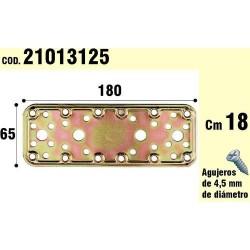 Soporte Para Madera Placa Bicromatada 65x180 mm.