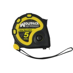 Flexometro 5 Metros Con Freno Wolfpack Grip Special