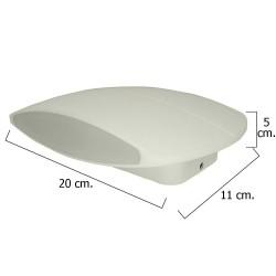 Plafon Led IP54 9 Watt. / 520 Lumens. Aluminio Plano...