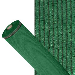 Malla Sombreo 90% Verde Claro 1,0 metros Rollo 50 metros