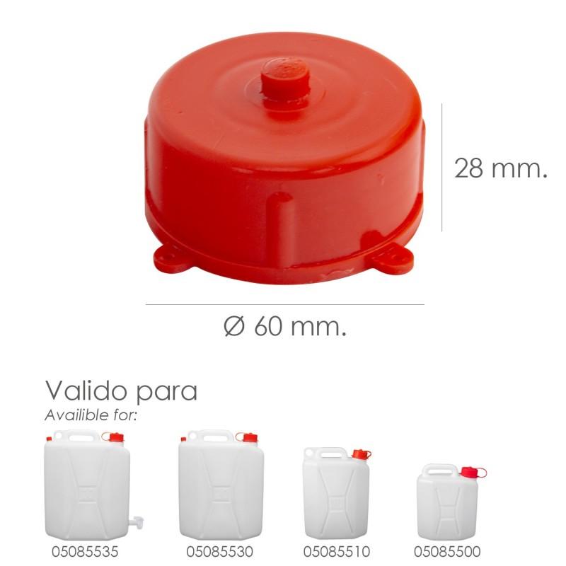 Bid/ón para Uso alimenticio con Grifo Cao Camping 20 L
