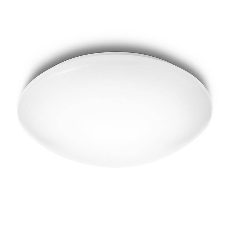 "Lámpara Techo \""Suede\"" Blanco LED 4 x 2,4W 430Lm 6500k [PH-3180131E4]"