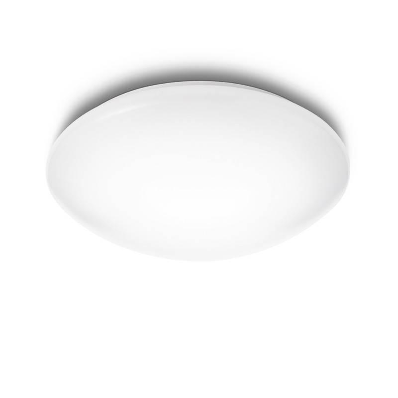 """Lámpara Techo \""""Suede\"""" Blanco LED 4 x 2,4W 430Lm 2700k [PH-3180131EO]"""