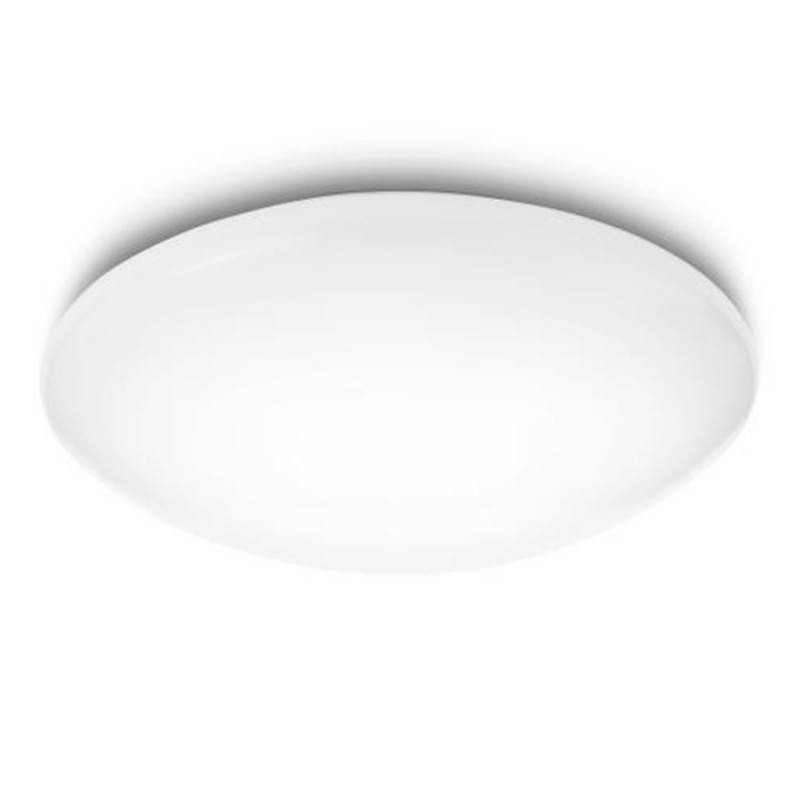 "Lámpara Techo \""Suede\"" Blanco LED 4 x 5W 1800Lm 6500k [PH-318023116]"