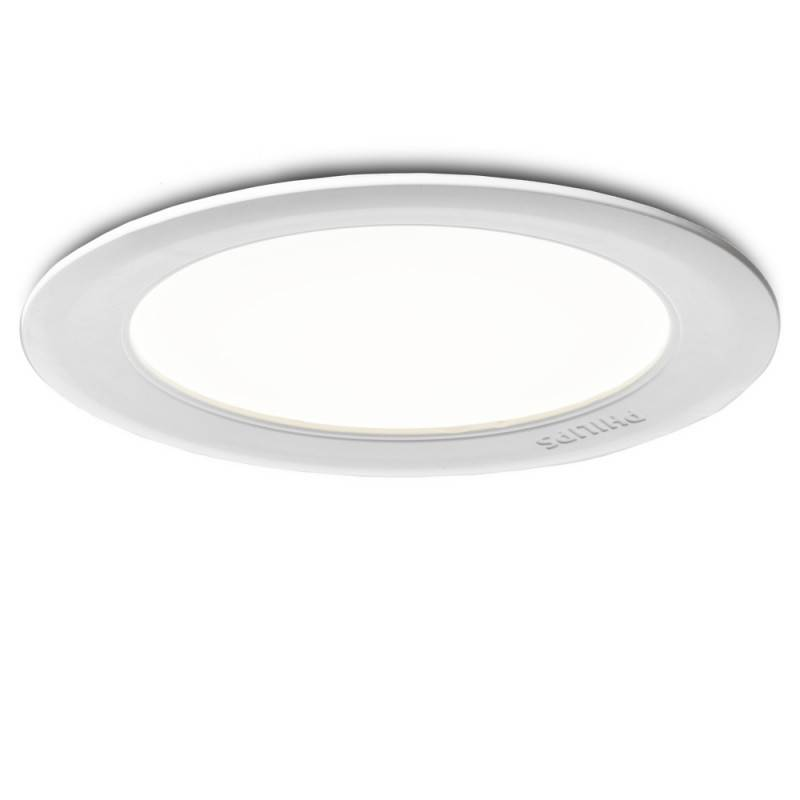 Downlight PHILIPS Marcasite Empotrable Blanco1x14W 240V