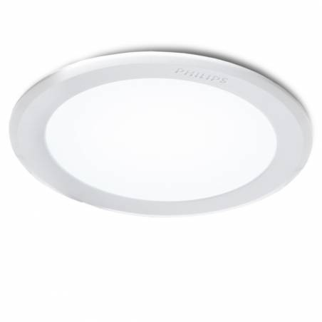 Downlight LED PHILIPS MESON Empotrable Blanco 6W 550Lm