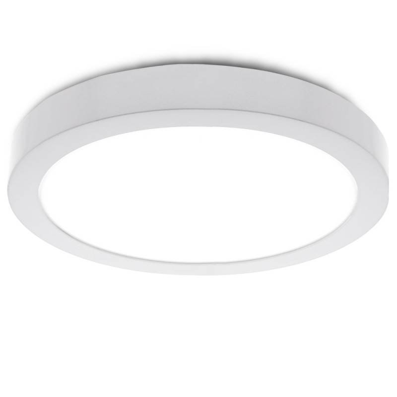 Plafón LED Circular Superficie Ø210mm 20W 2000Lm 30000H