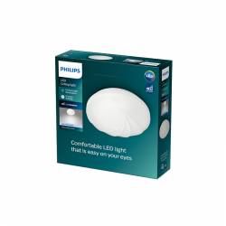 "Plafón LED Philips ""Shell\"" Circular 6W 640Lm Blanco 4000K [PH-915005775331]"