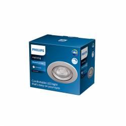 "Downlight LED Philips \""Sparkle\"" Circular 5,5W 350Lm Niquelado 2700K [PH-929002373920]"